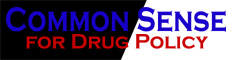 link to Common Sense for Drug Policy